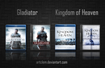 Gladiator - Kingdom of Heaven Folder Icons by ArtClem