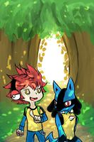Exploring!~ by zhineart