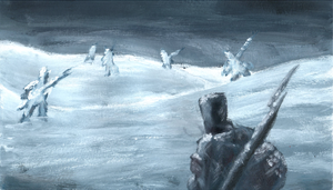 Napoleon Wars : Field of the Frozen Soldiers by Pandoraz-Kyle
