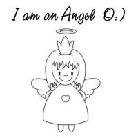 I'm an Angeeeel O:) by JanuaryLOVER