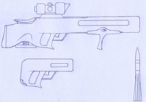 AC58 GAR and AC58C Pistol by ChapterAquila92