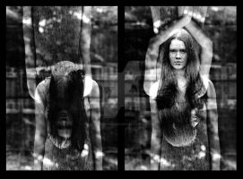 Queens Diptych by fakesnowcan