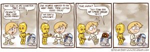 Star Wars Funnies: R2D2 by kevinbolk