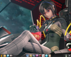 My small desktop by desprosal