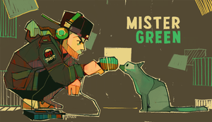 Mr. Green by michaelfirman