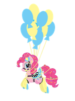 Carosel Pinkie Pie by ToxicUnicorns