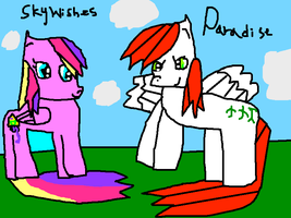 Sky Wishes And Paradise by DrawingGirl4
