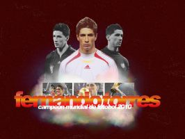 FERNANDO TORRES Wallpaper II by Alekt0o