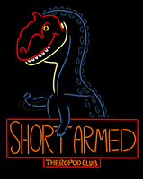 The Short Armed Theropod Club by StygimolochSpinifer