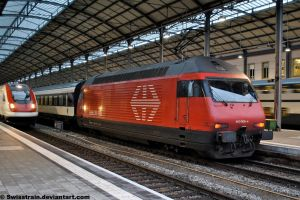SBB Re 460 009-4 by SwissTrain