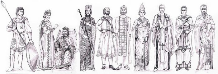 BYZANTINE EMPIRE- Fashion History Study by FashionARTventures