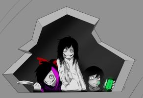 creepypasta killers by chocone