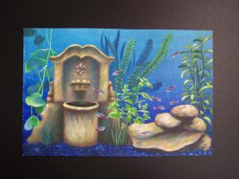 Aquarium Fountain by Sivorakart