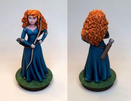 Brave Merida by Tarrom