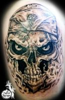 Ritchie Skull by HIGHTRIP