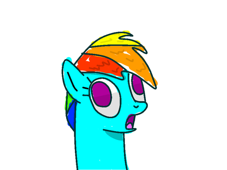Wow Im Better At Drawing Ponys That I Thought by mrmountaindew