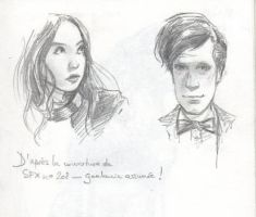 Pond and the Doctor by Alda-Rana