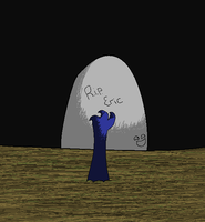 E is for Eric Who Was Buried Alive by silverfang3000