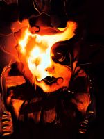 Masks: Burning by Slorie