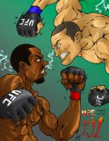 UFC 151 Poster by Raikoh101