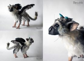 Trico Handmade Plushie (collage) by miaushka-workshop
