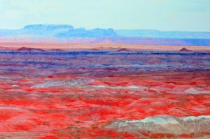 Photo Painting of Painted Desert by clippercarrillo