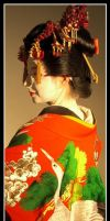 The Oiran by Kurokami-Kanzashi