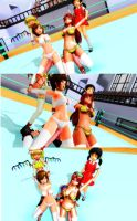 Meiko and Meilin in trouble (1) by tousato