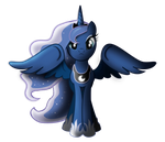 Luna - Angel Of The Night Sky by WildSoulWS