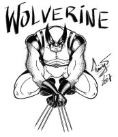 wolverine inks by DALBELLO182