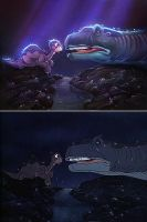 Lighting exercise - Land before Time by KarenKong