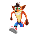 Crash Bandicoot Render by Nibroc-Rock