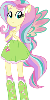 Rainbowfied Fluttershy by shaynelleLPS