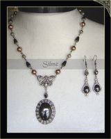 Necklace and Earring Medieval by Amelyse