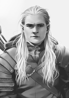 LOTR: Legolas Greenleaf by eevf