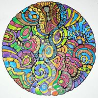 Mandala 2Sept12 by Artwyrd