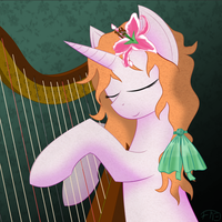 Harps and Lillies by deathaura40s