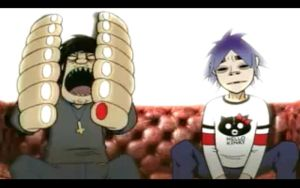 To many fingers murdoc..... by GhostCrabDelight