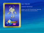 Sonic X: FIU eye-catch card: TITAN-1000 by bvge