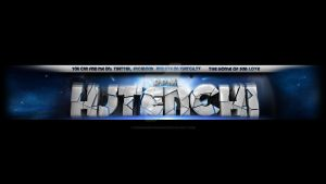 HJTenchi 3D text Youtube layout 2013 by Runningboxdesign