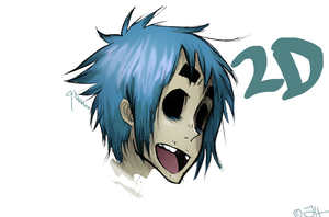 2-D by MellowMagoo