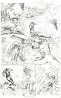 Marvel's X-men Try-Out Page 1 by CPuglise9