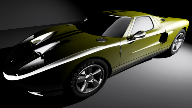 Ford  GT40 by motoko-chroma