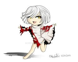 Shio God Eater Chibi by ReiGodric