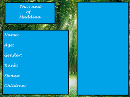 The Land of Maddina - Ref Sheets by melfurny