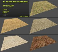 Free 3D textures pack 08 by Nobiax