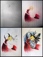 FMA - Ed and Al - Little Process by NirmtwarK-s