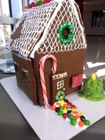 Finished Ginger Bread House by skittysango