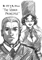 Mr. Spy and Ms. Officer by ZhaxRa