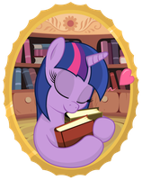 I luv books! by negasun